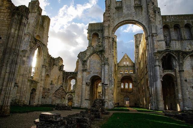 jumieges abbey Γαλλία